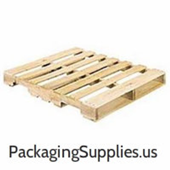 "Pallets 40"" x 48"" 4-Way Wood Pallet - Recycled (10/stack)
