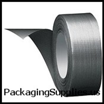 "Duct Tape 2"" x 60 yds. 8.5 Mil #AC20   #DT85 Silver Cloth Duct Tape (24 Case) TDTT987620"
