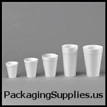 Kitchen Products: Cups, Forks, Knives, Plates, Spoons Dart® 16 oz White Foam Cups (1000 cs) (MFG# 16J16) 628116