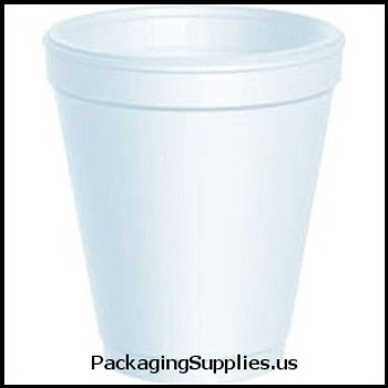 Kitchen Products: Cups, Forks, Knives, Plates, Spoons Dart® 8 oz White Foam Cups (1000 cs) (MFG# 8J8) 628112