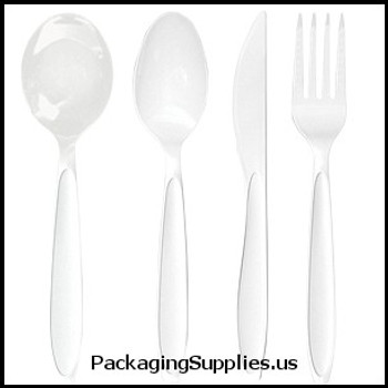 Kitchen Products: Cups, Forks, Knives, Plates, Spoons Solo® Reliance™ Plastic Soup Spoon (1000 cs) (MFG# RSWS-0007) 638912