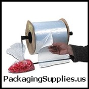 """10 x 15"""" 1.5 Mil Standard Gauge Poly Bags On A Roll (1000/roll)   AB173"""