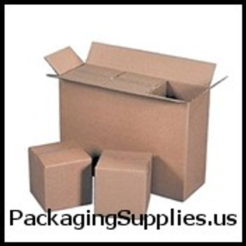 Boxes 12 3 4 x 6 3 8 x 13 1 2 32ECT Master Carton holds 4-Pack of 6x6x6 Boxes BS120613