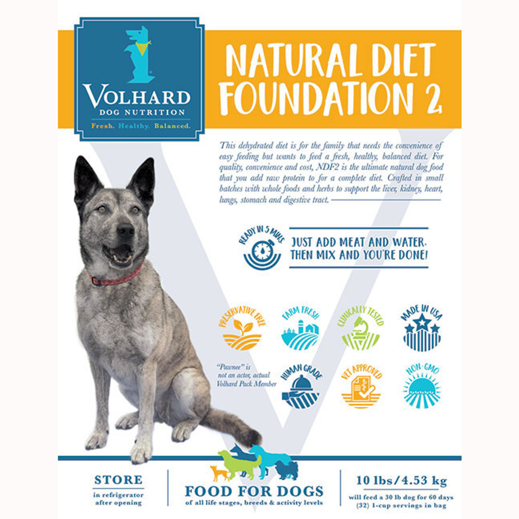 NDF 2 is suitable for dogs with a history of digestive upsets and is used by breeders, trainers and pet owners who wish to have long-lived, healthy dogs.