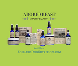 Why has Volhard partnered with Adored Beast Apothecary?