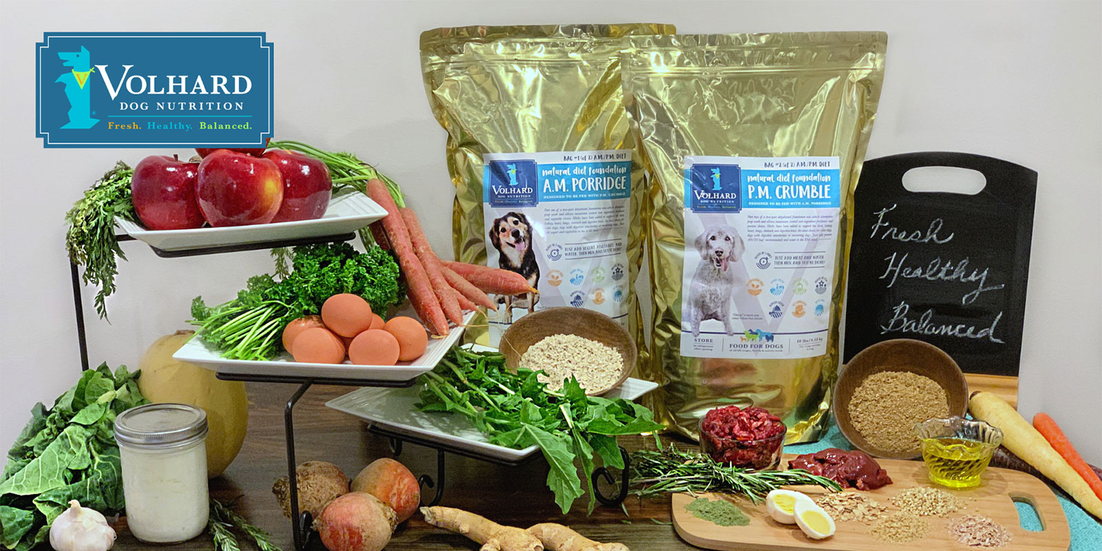 Healthy Food for Dogs | Canine Raw Diet | Volhard Dog Nutrition