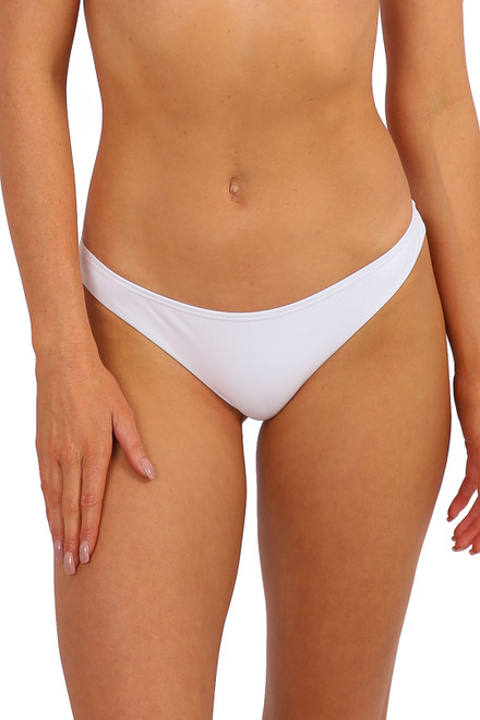 'Myko' Cheeky Brief - White