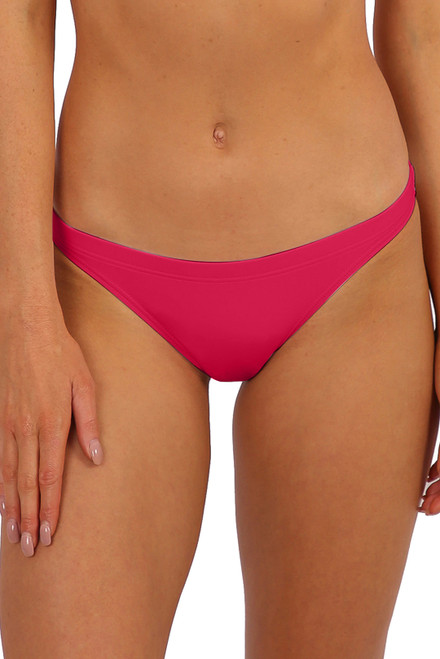 'Bondi' Cheeky Drawstring - Raspberry