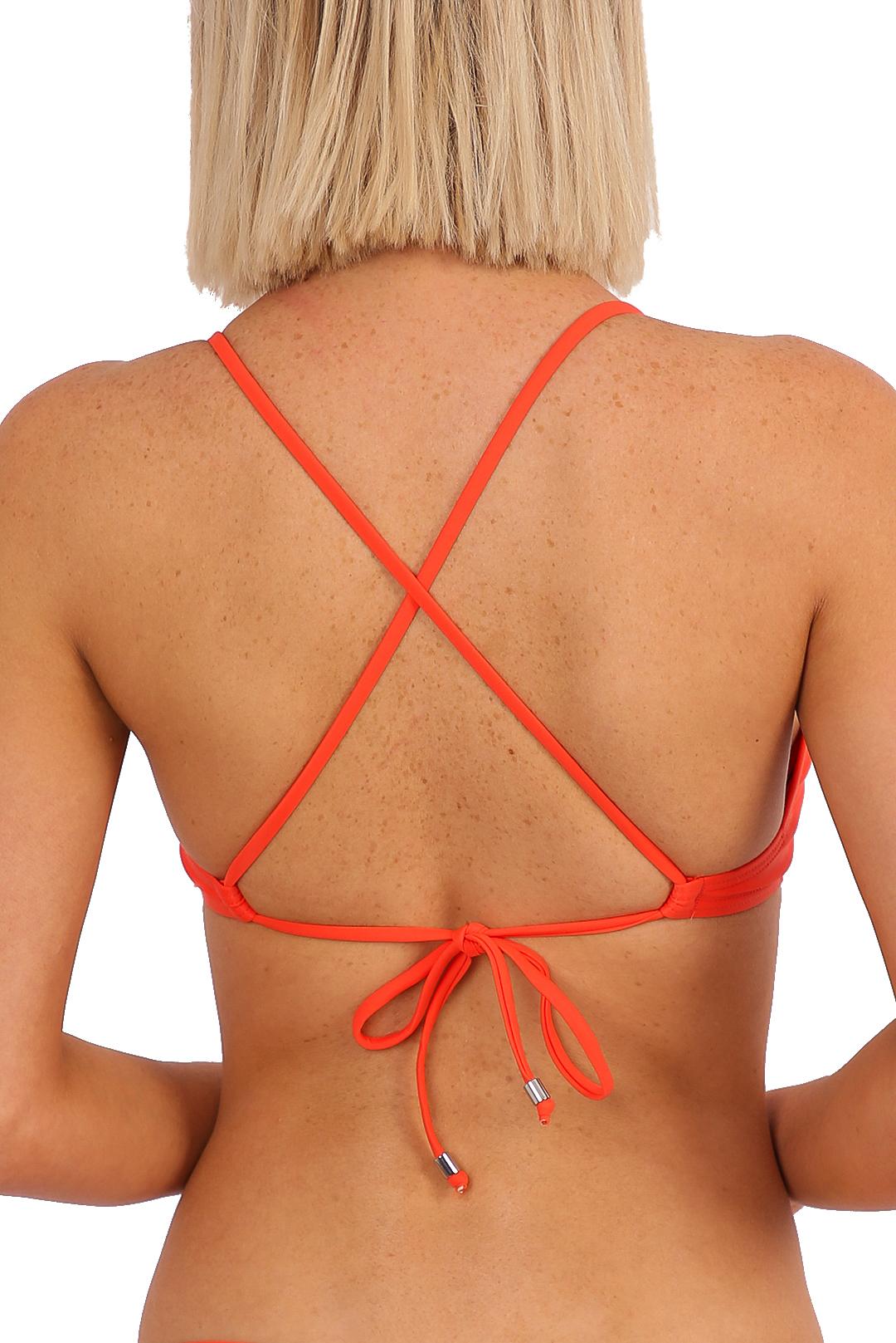 'Lola' Bralette Tie Back - Clementina