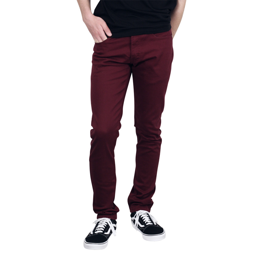 M. SOCIETY Skinny Fit Colored Lightweight Jeans