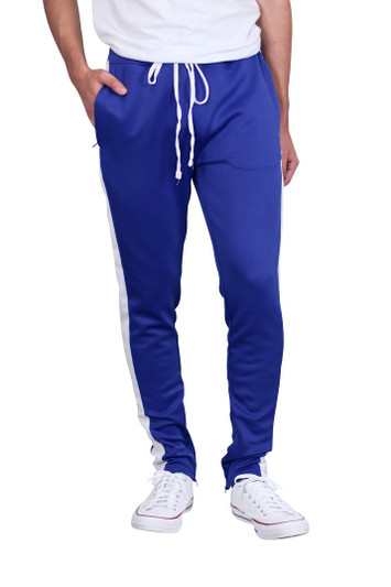 REBEL MINDS Side Stripe Track Pants