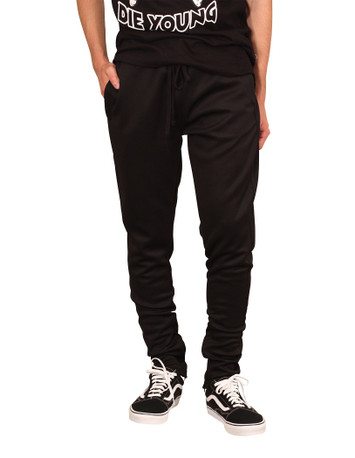 REBEL MINDS Solid Track Pants