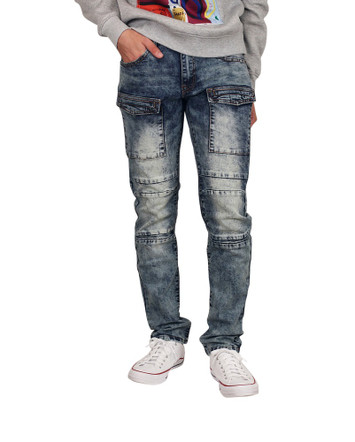 GENUINE DENIM Slim Fit  Jeans with Flap Pockets