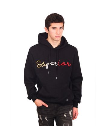 BLEECKER & MERCER 3D Embroidered SUPERIOR Hoodie