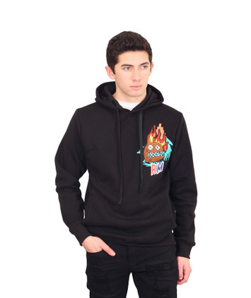 "REBEL MINDS ""REBEL STUDIO"" Fleece Hoodie"