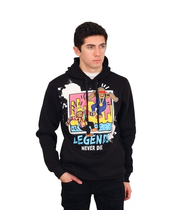 "REBEL MINDS ""LEGENDS NEVER DIE"" Hoodie"