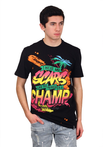 REBEL MINDS CHAMP Graphic Tee