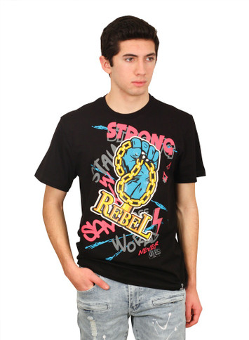 REBEL MINDS STRONG REBEL Graphic Tee