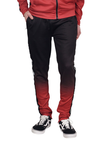 REBEL MINDS Ombre Dip Dye Track Pants