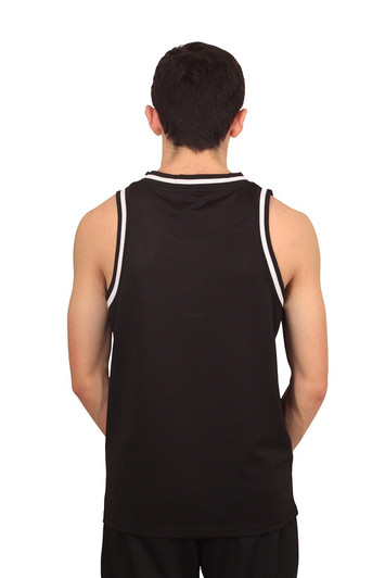 REBEL MINDS Mesh Basketball Jersey