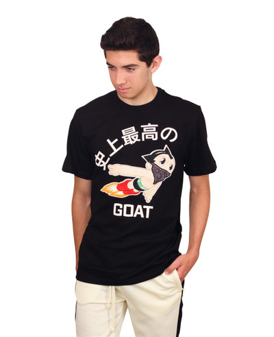 REBEL MINDS Anime Chenille Patch GOAT Tee