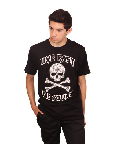 REBEL MINDS LIVE FAST DIE YOUNG Tee