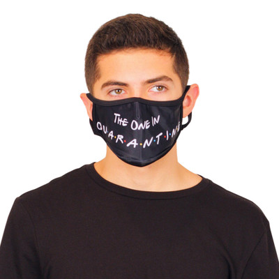 THE ONE IN QUARANTINE Fashion Face Mask