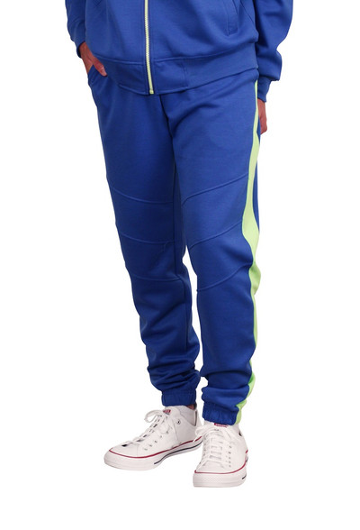 M. SOCIETY Tactical Color Block Joggers
