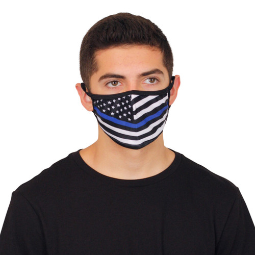 BLUE LIVES Fashion Face Mask