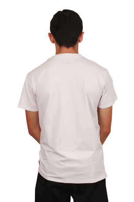 BLEECKER & MERCER Graphic Stretch Tee with Embroidery