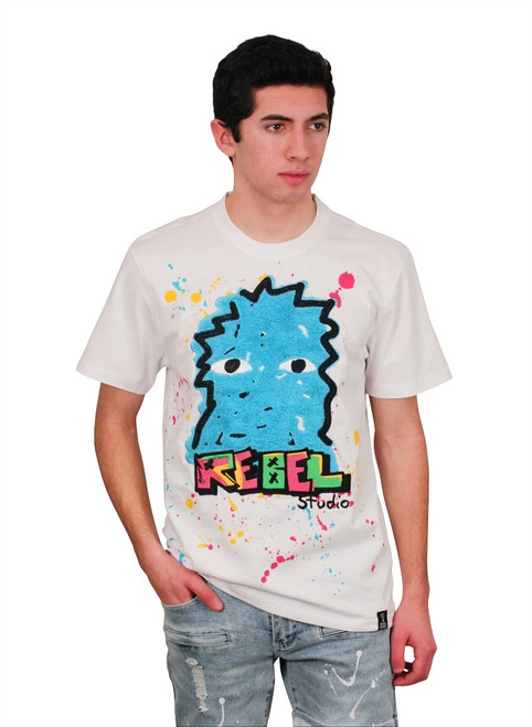REBEL MINDS REBEL ICON Chenille Graphic Tee