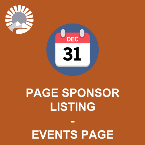 Homepage Sponsor Listing - Events Page