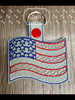 Key Chain Flag - Tab or Eyelet versions included