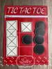 5x7 Tic Tac Toe Zip Pouch Original