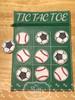 5x7 Tic Tac Toe Zip Pouch Sports