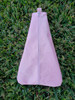 6x10 Triangle Zip Pouch Blank