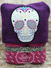 5x7 Sugar Skull Applique