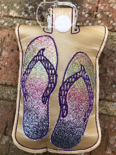 5x7 Sanitizer Case Flip Flops