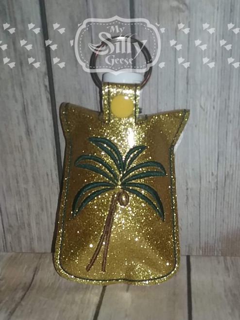 5x7 Sanitizer Case Palm Tree
