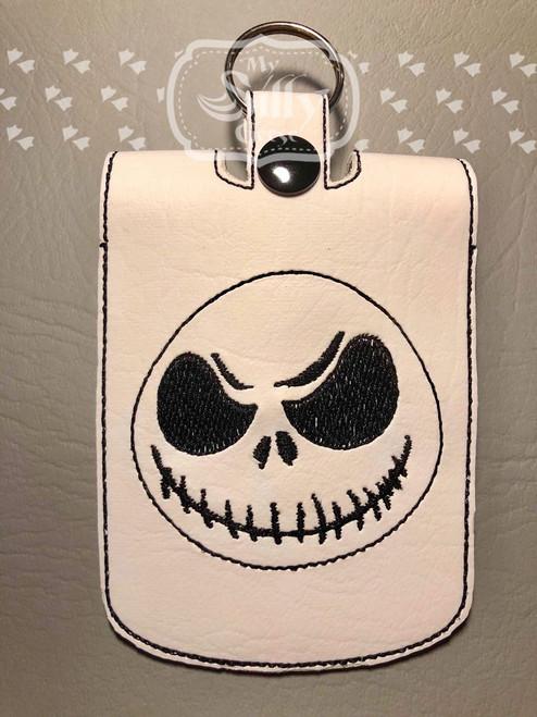 5x7 Sanitizer Case Skeleton Guy