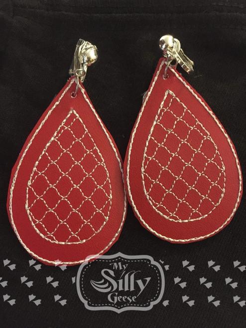 4x4 Drop Motif 1 Earrings