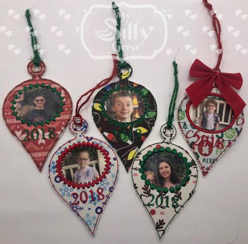 Ornament Retro Set 2018