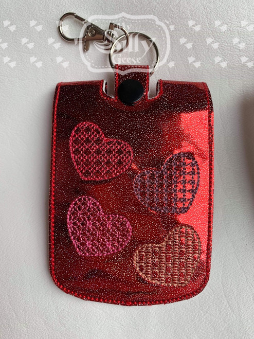 5x7 Sanitizer Case Hearts
