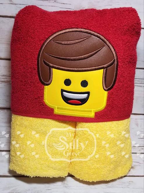 4x4 Block Head Boy Peeker
