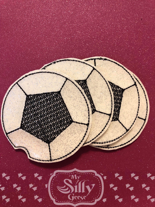4x4 Car Coasters Soccer