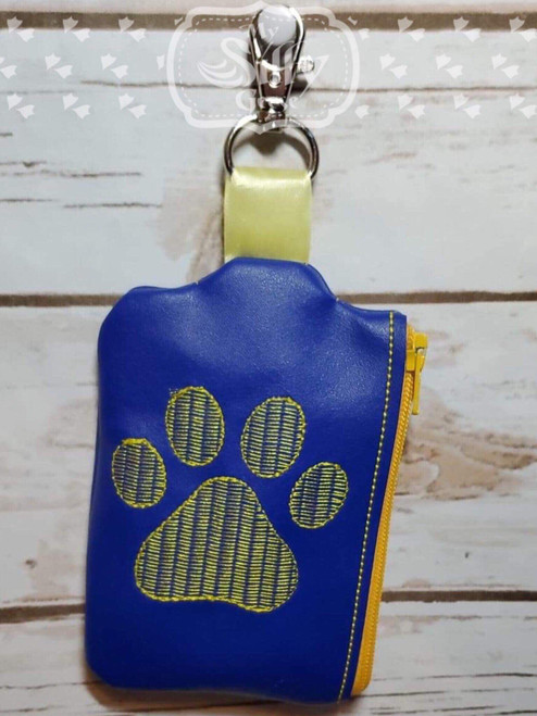 Side Zip Pouch Paw