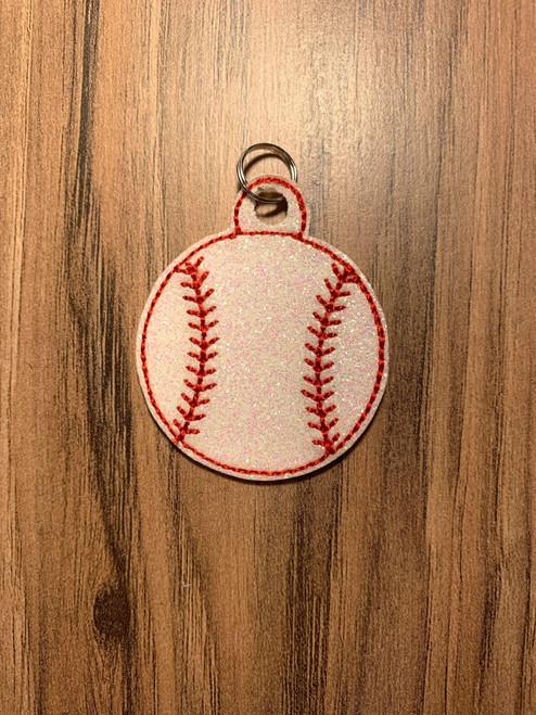 Zipper Pull - Baseball
