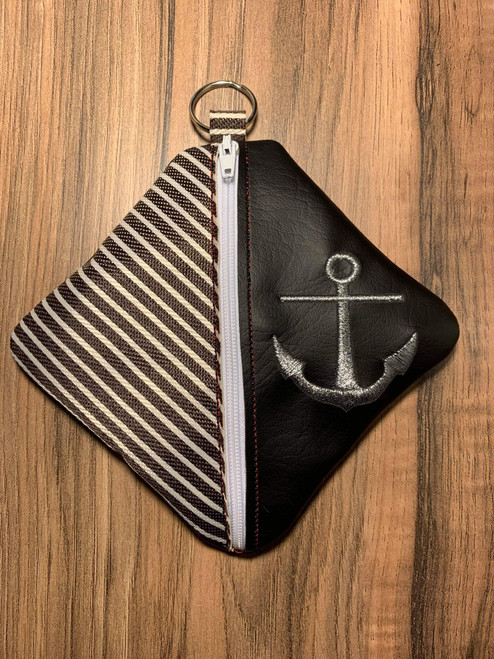 Diamond Zip Pouch Anchor