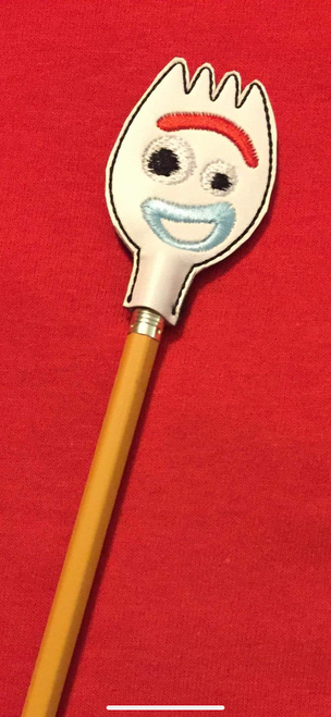 Pencil Topper Toy Fork