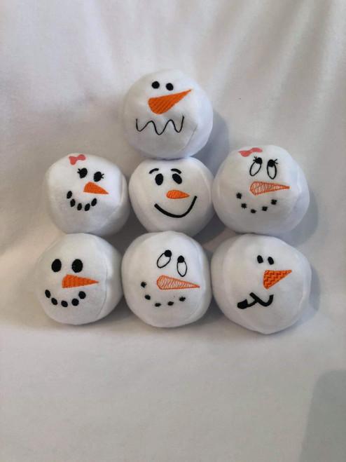 4x4 ITH Snowball Snowman Set